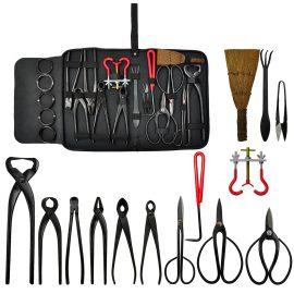 Kit d'outils pour l'entretien du bonsai – 14 pièces
